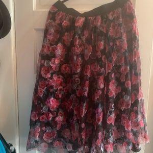 Disney Torrid Roses Tulle Skirt - NWT